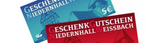 Geschenk-Gutschein Niedernhall-Weissbach